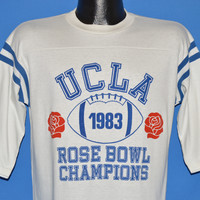80s UCLA Bruins Rose Bowl Champions Jersey t-shirt Medium