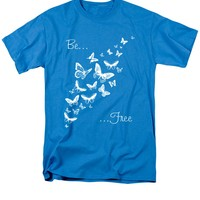 Be Free - White T-Shirt