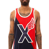 10 Deep The Divided Tank Top in Red : Karmaloop.com - Global Concrete Culture