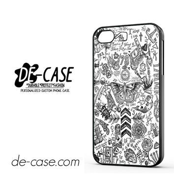 One Direction Tattoo For Iphone 4 Iphone 4S Case Phone Case Gift Present