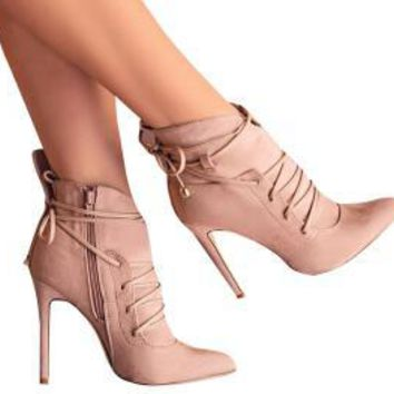 High Heels Ankle Booties