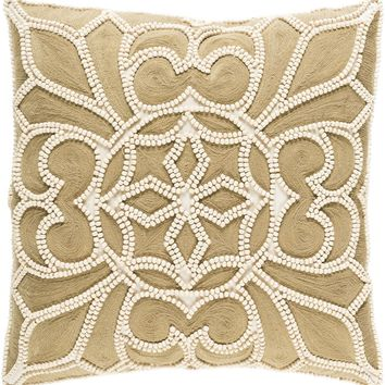 Pastiche Throw Pillow Neutral, Brown