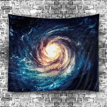 2017 Starry Sky Stars Mandala Tapestry Beach Table Cloth Hippie Blanket Scenery Decoration