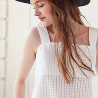 Cooperative Gingham Square-Neck Tank Top | Urban Outfitters