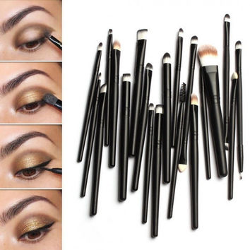 20 Piece Professional Makeup Brush Set