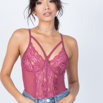Sheer Beauty Bodysuit