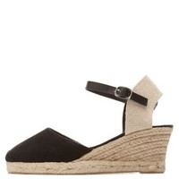 Qupid Espadrille Wedge Sandal by