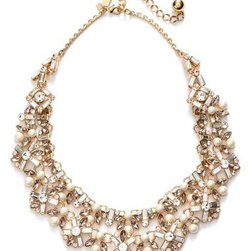 Women's kate spade new york 'cocktails & conversation' collar necklace - Neutral Multi