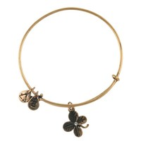 Lucky Clover Charm Bangle