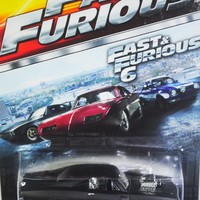 HOT WHEELS 2015 FAST AND FURIOUS RELEASE EXCLUSIVE BLACK '70 DODGE CHARGER R/T #3/8 DIE-CAST