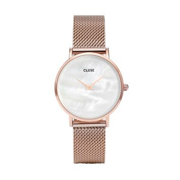 Minuit Mesh in Rosegold and Pearl
