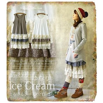 80504840f8aad Best Linen And Lace Dresses Products on Wanelo