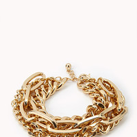 Multi-Chain Layered Bracelet