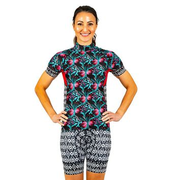 Shebeest Prickly Pear Divine Women's Cycling Jersey