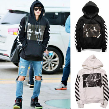 Off White C/O Virgil Abloh Pyrex Vision S/S Coat Religion Long Sleeve Hoody Fashion Street Hoodies Causal Loose Clothes