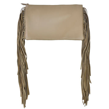 Momoa Crossbody Clutch Taupe