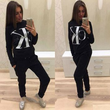 CK Hoodies + Pants 2 Piece Set