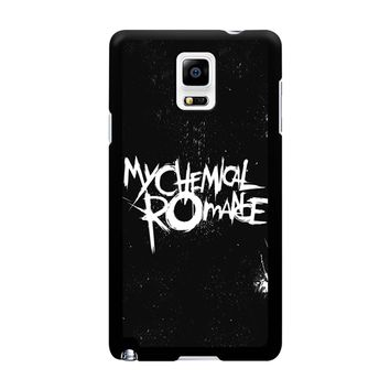 My Chemical Romance Black White Logo Samsung Galaxy Note 4 Case