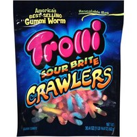Trolli Sour Brite Crawlers Gummi Worms Candy, 30.4 oz - Walmart.com