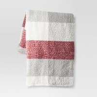 Plaid Sherpa Throw - Threshold™