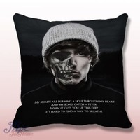 Bring Me The Horizon American Horror Style Throw Pillow – MPCTeeHouse