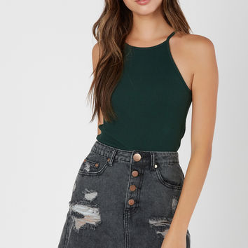 Top It Off Ribbed Cami