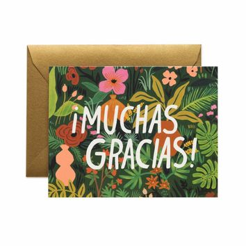 RIFLE PAPER BOXED SET ¡MUCHAS GRACIAS! CARDS