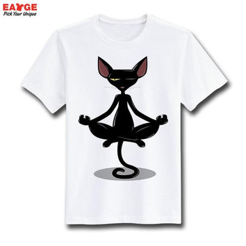 Meditation Cat Shirt