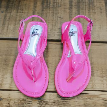 Girls Edge Jr Sandals - Pink