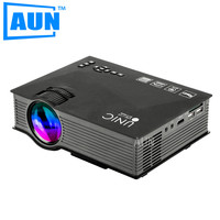 UNIC UC46 1200 Lumens LED Projector with 2.4G WIFI Support 1080P DLNA Screen Display Phone to Projector MINI Projector