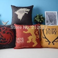 Game of Thrones Pillow Covers 4pcs
