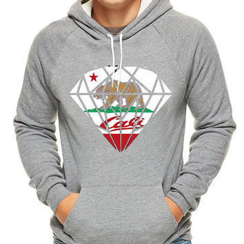 California Republic Bear Diamond Hoodie, hoodie for men, hoodie for women, cotton hoodie on Size S-3XL heppy hoodied.