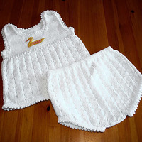 Summer dress Sun dress & diaper cover baby girl