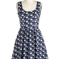ModCloth Bird Mid-length Sleeveless