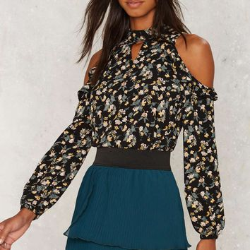 Cover Your Bases Tiered Mini Skirt