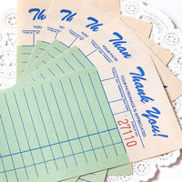 Vintage Guest Checks. Paper Ephemera. Vintage Ticket. Vintage Receipt. Restaurant. Junk Journal Paper. Paper Scrap Pack. Journal Card. Notes