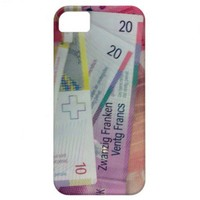 Swiss franks iPhone 5 cases from Zazzle.com