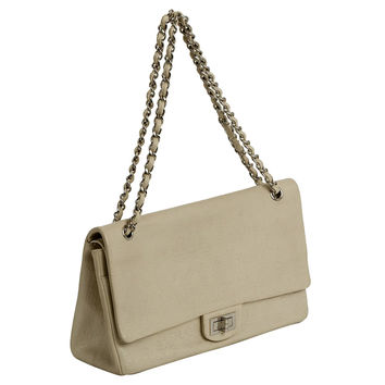 Chanel Jumbo Double Flap Beige Bag