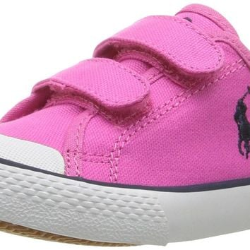 Polo Ralph Lauren Kids Kids' Camden EZ Fuchsia Cvs Withnvy PP Sneaker Toddler (1-4 Yea