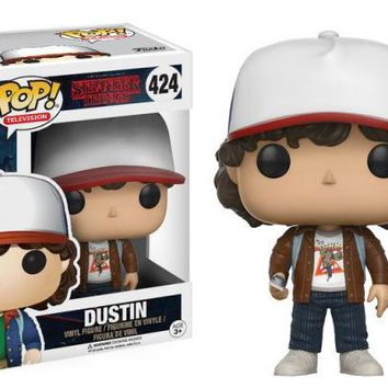 Dustin Brown Jacket Funko Pop! Television Stranger Things Exclusive