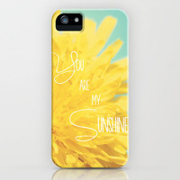 You are my Sunshine iPhone Case by Beth - Paper Angels Photography | Society6