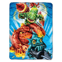Skylanders Little Giants  Micro Raschel Blanket (46in x 60in)