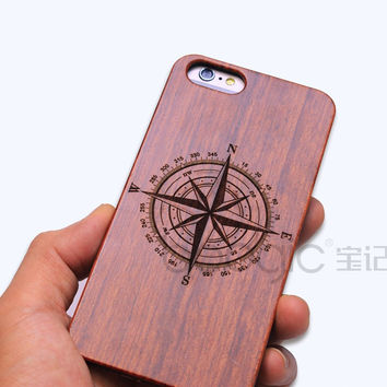 Vintage Rosewood Carve Phone Case iPhone Wooden Pattern Luxury Phone Case iPhone 6/6s/6 Plus/6S Plus/5/5S/S [8606825159]