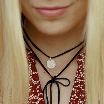 Personalized Choker Wrap Necklace