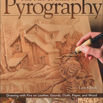 book - the art & craft of pyrography