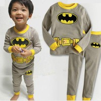 Axc410 boys Kids girls Clothing sets Long Sleeve Top Shirt Pants Outfit S2-7Y