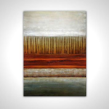Landscape painting - Anniversary gift - Abstract canvas painting - Wall art deco - Abstract artwork - Contemporary painting - oil painting