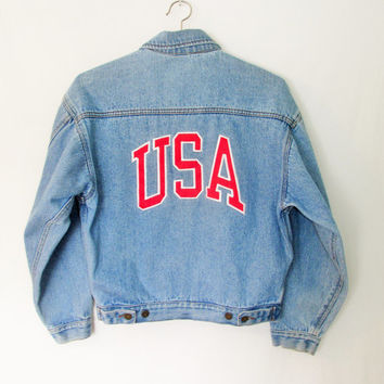 Vintage 1990s USA Denim Jacket