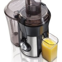 Hamilton Beach 67608 Big Mouth Juice Extractor:Amazon:Kitchen & Dining