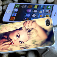 Miley Cyrus iPhone 4 4S iPhone 5 5S 5C and Samsung Galaxy S3 S4 Case